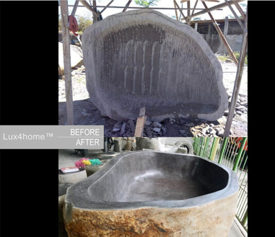 How stone sinks are made